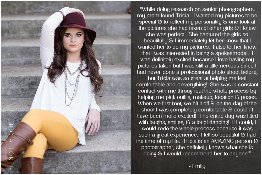 Dacula GA Atlanta High School Senior Pictures Photographer Review 0002 Testimonials