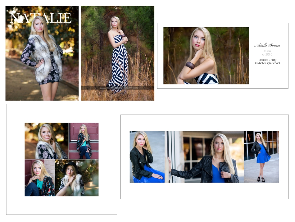Milton GA Roswell Blessed Trinity Atlanta Senior Portraits Photographer 0027 Natalie ~ Blessed Trinitiy / Roswell, GA ~ Senior Product Showcase ~ Bliss Collection ~ {Milton, Atlanta, Alpharetta, Dacula}